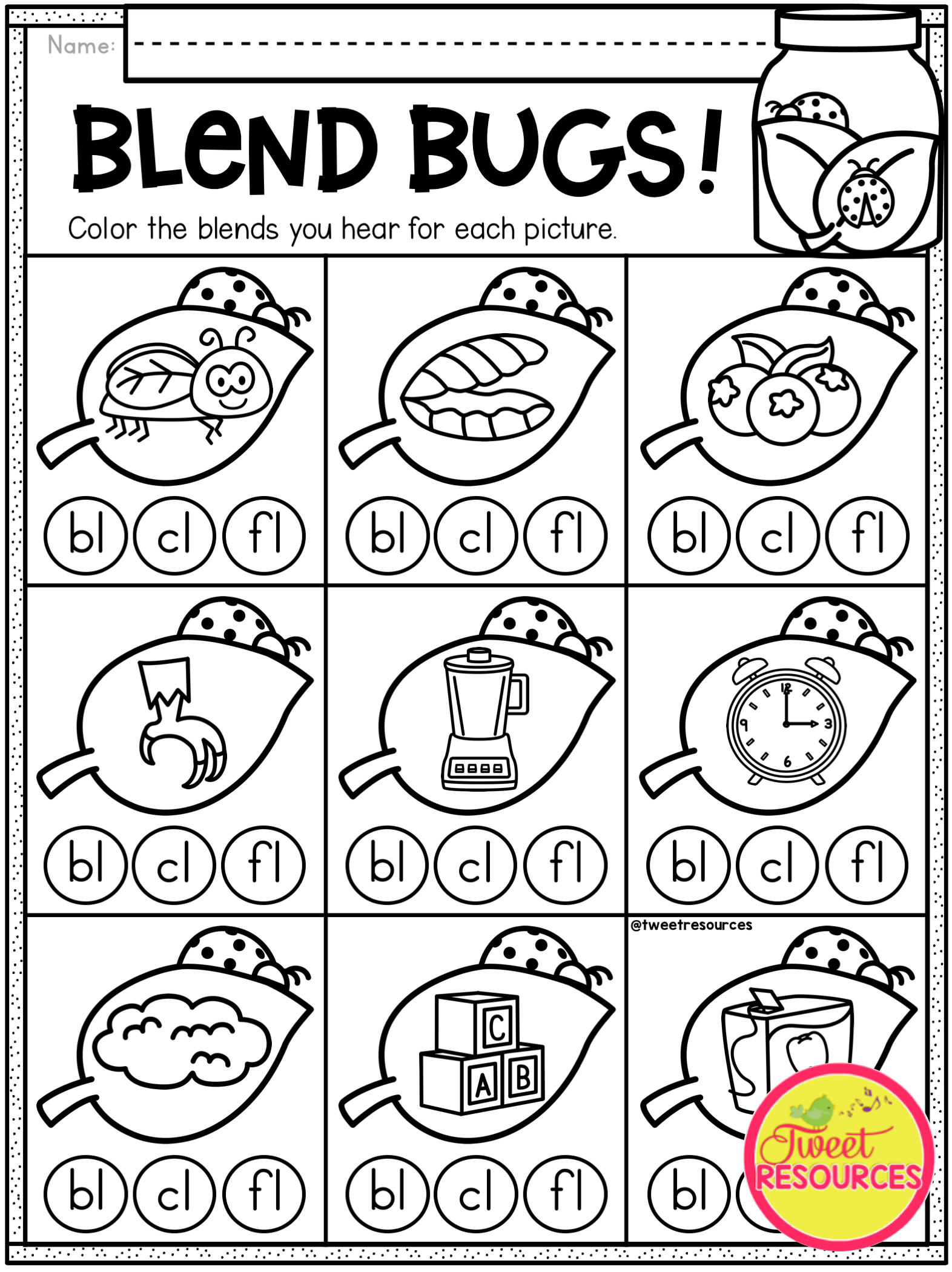Kindergarten Math And Literacy Printables For Spring! Spring
