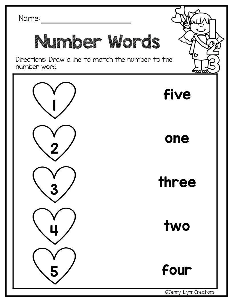February Math & Literacy | Kindergarten | Math Literacy, School