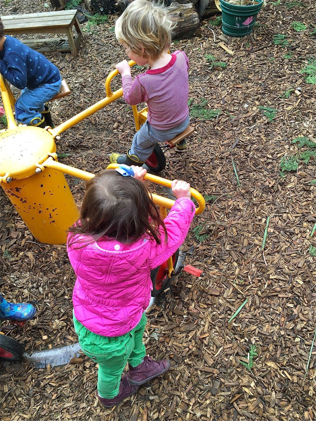 I Went To Kindergarten Back In The 1960's We Played Outdoors, Built