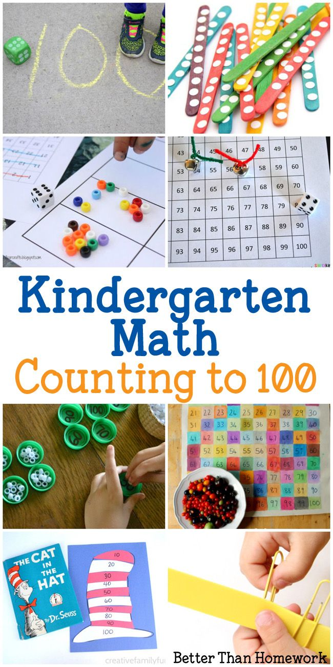 Counting To 100 Activities For Kindergarten | Math Center
