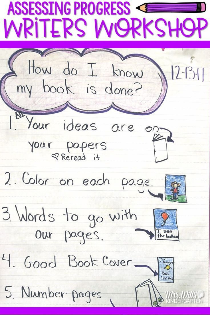 Writing Assessment In Kindergarten | Exceptional Educational Blogs