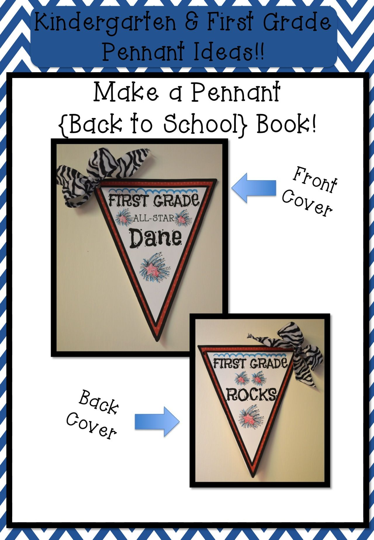 Freebie For A Limited Time! Kindergarten And First Grade Pennant