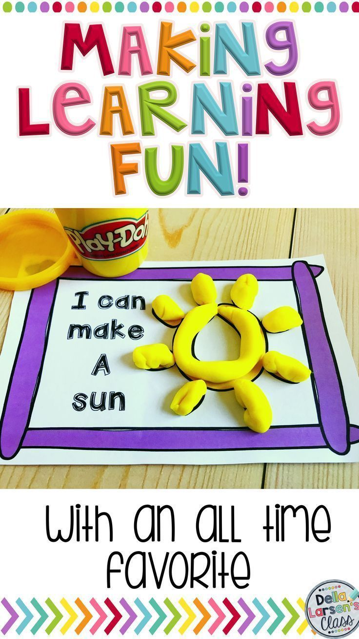 Play Dough Is An All Time Favorite Activity For Kindergarten See