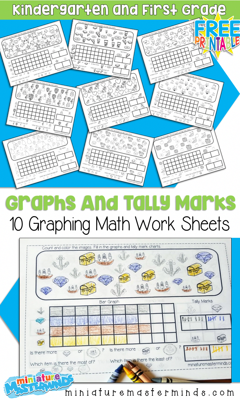 10 Free Printable Graphing Worksheets For Kindergarten And First
