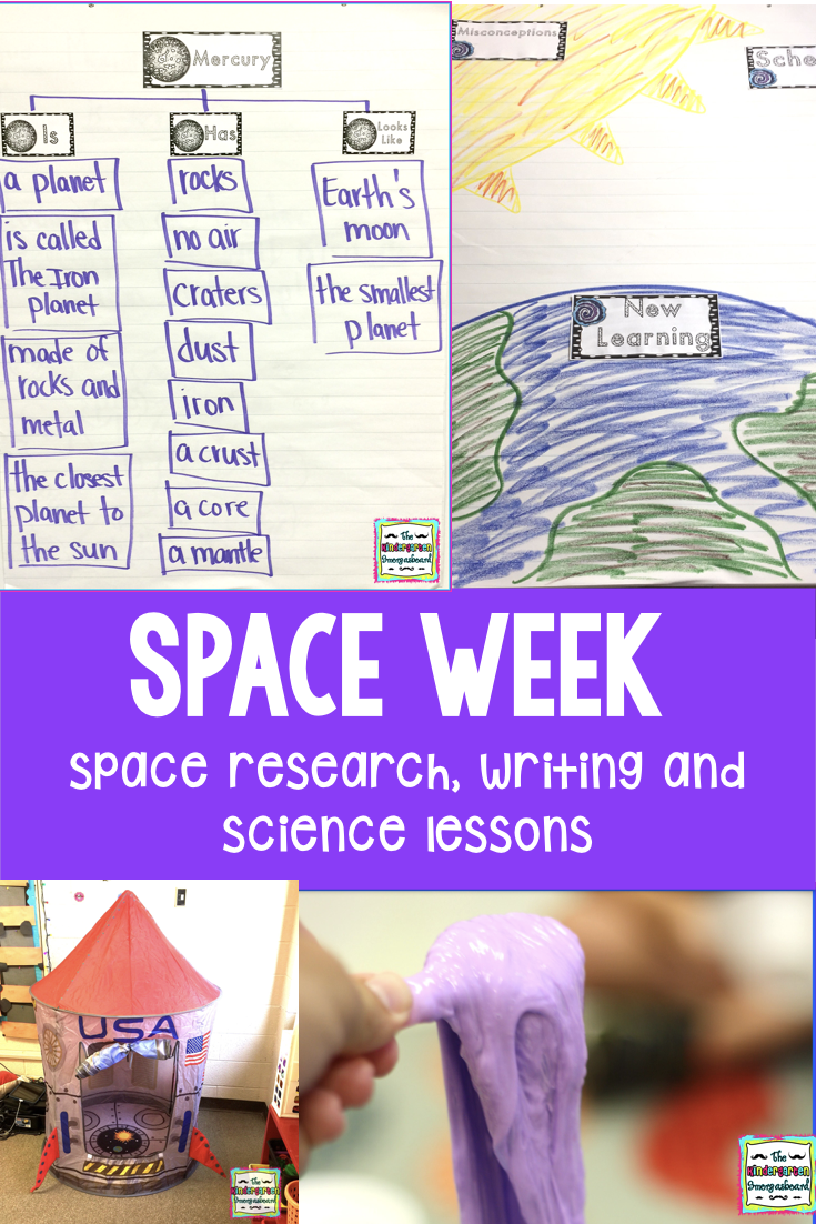 Space Research And Subtraction: Schedulin' Sunday | The Kindergarten