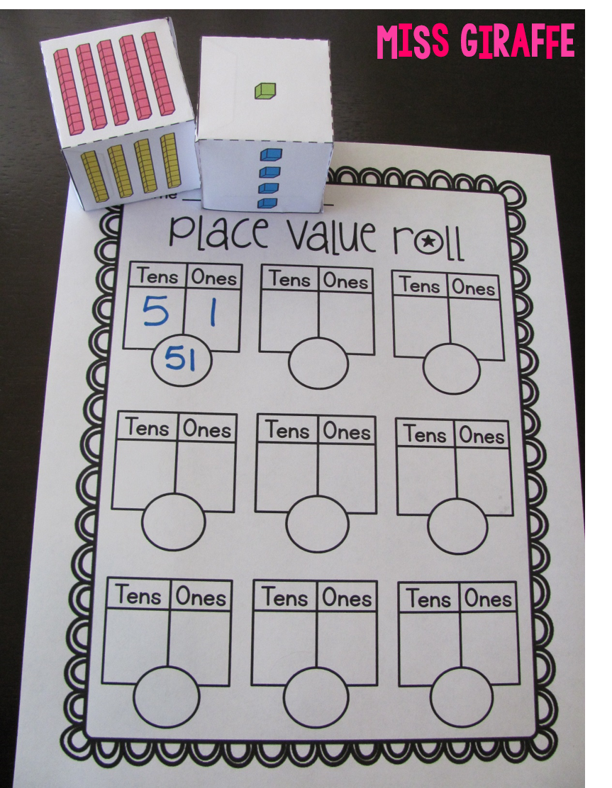 Place Value In First Grade | Kindergarten Math- Tens And Ones