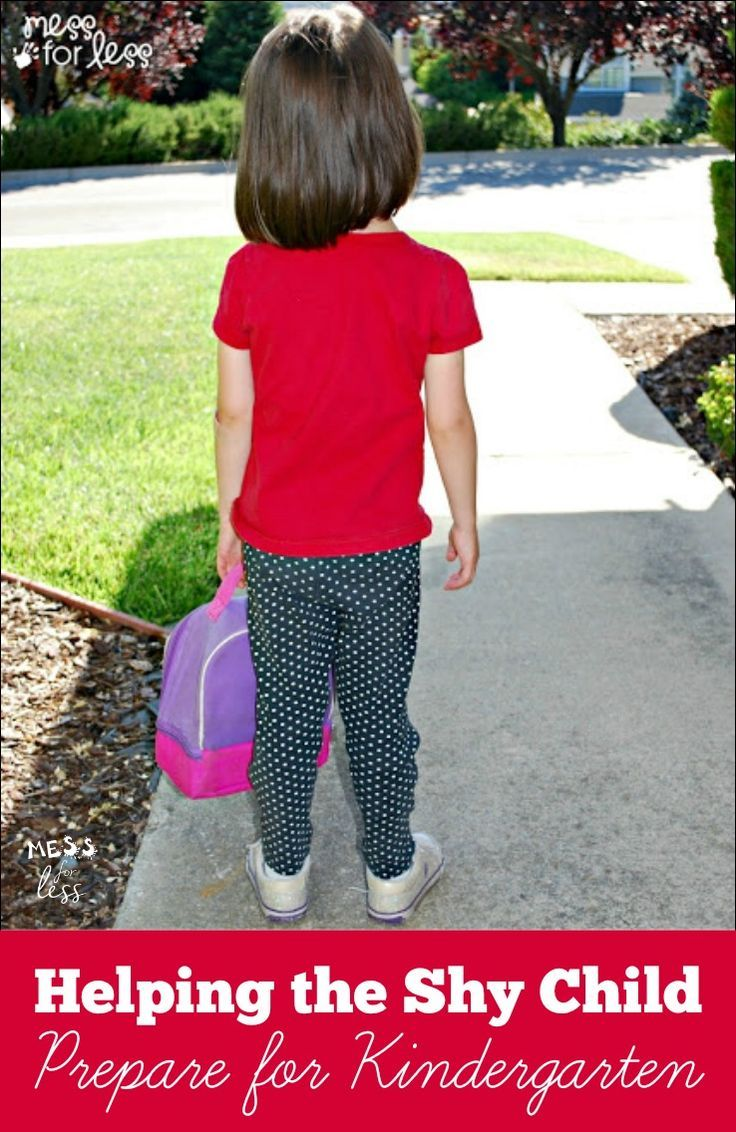 Helping The Shy Child Prepare For Kindergarten - Have A Child