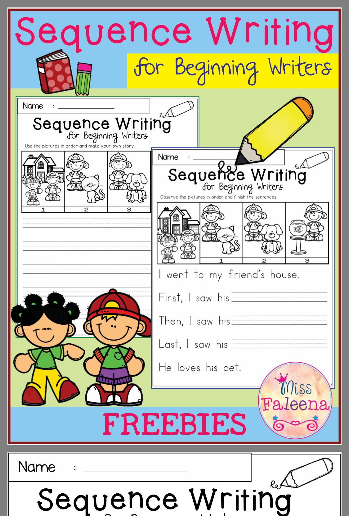 Pin By Linda Scoville On Teaching Writing | Kindergarten Writing