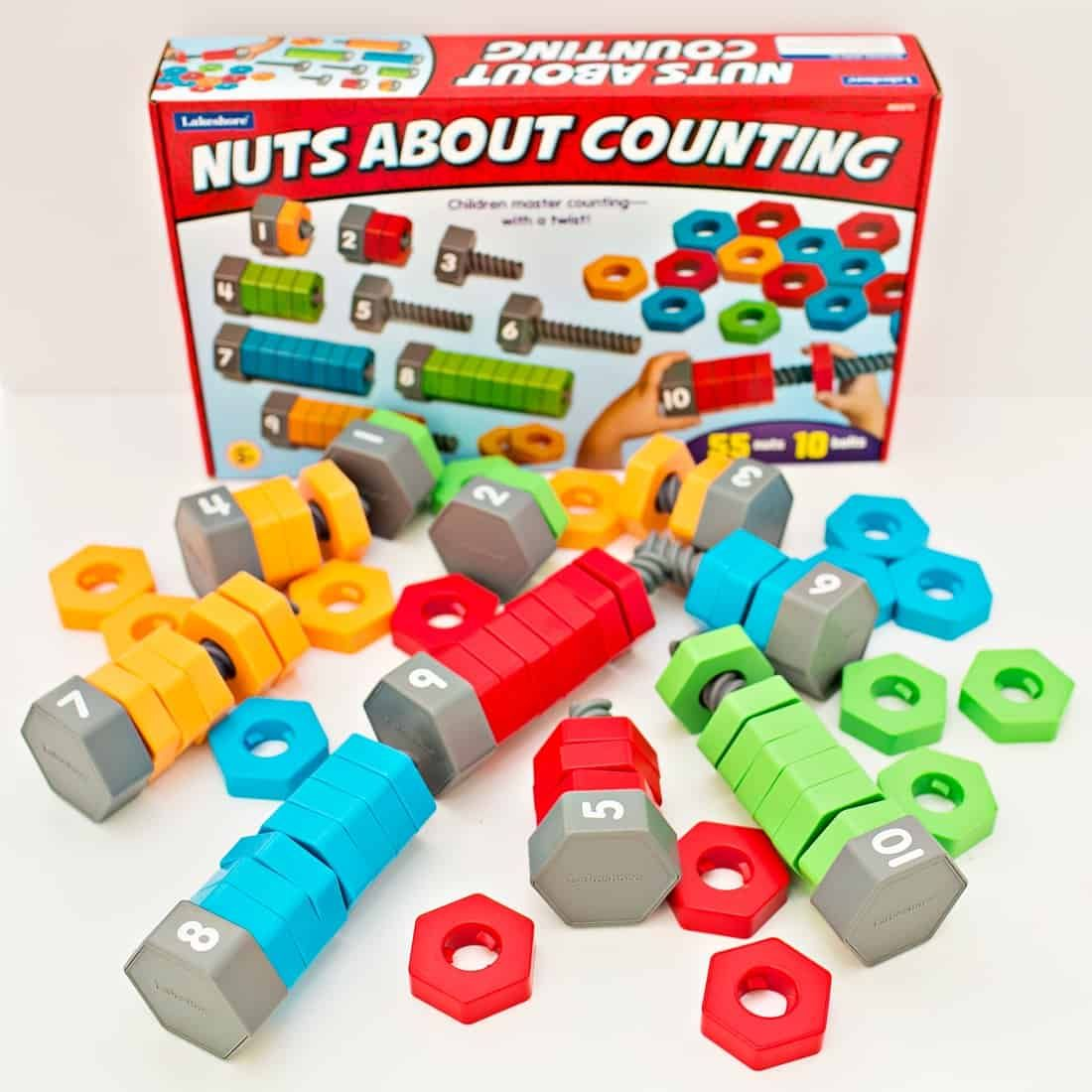 Nuts About Counting And Sorting Learning Toy | Kindergarten Math