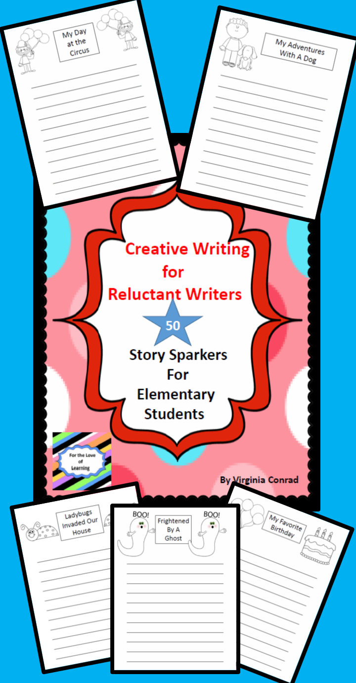 Creative Writing For Reluctant Writers | Kindergarten, First, And
