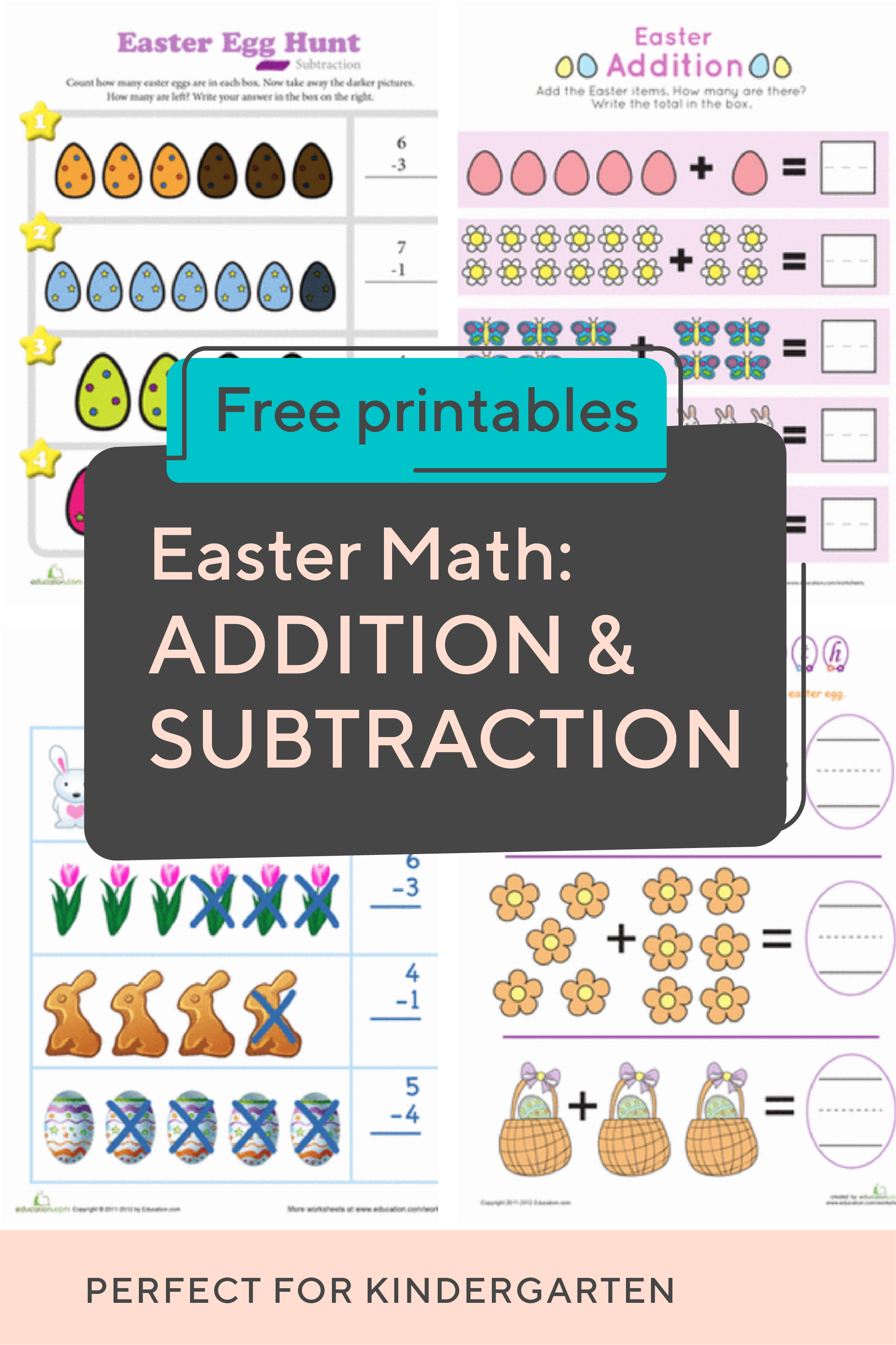 Spring Into The Season With This Collection Of #kindergarten #easter