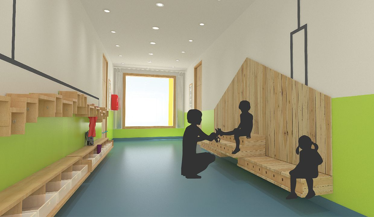 Interior Design For Kindergarten On Behance | Fairstead