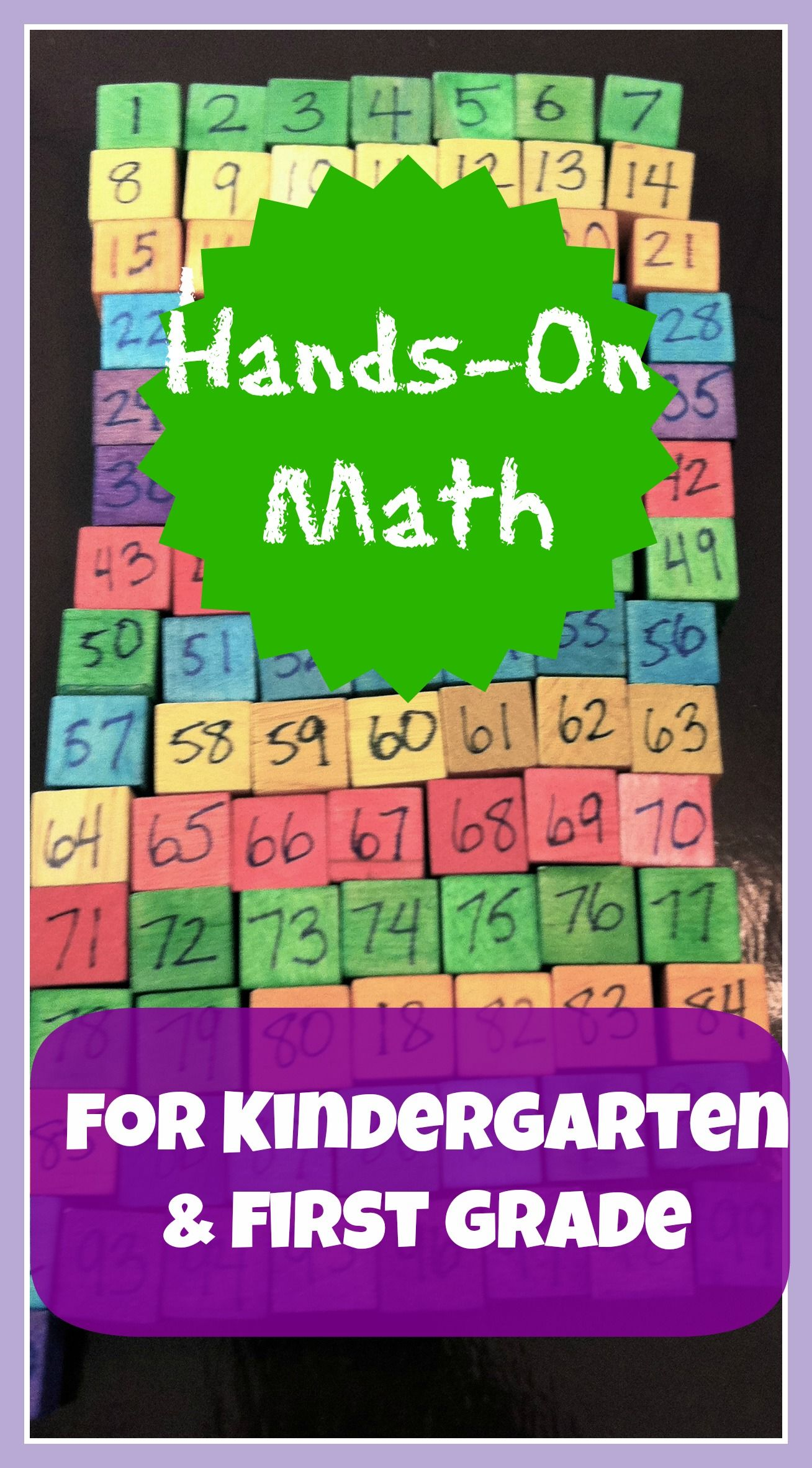 Hands-on Math Learning For Kindergarten And First Grade | School