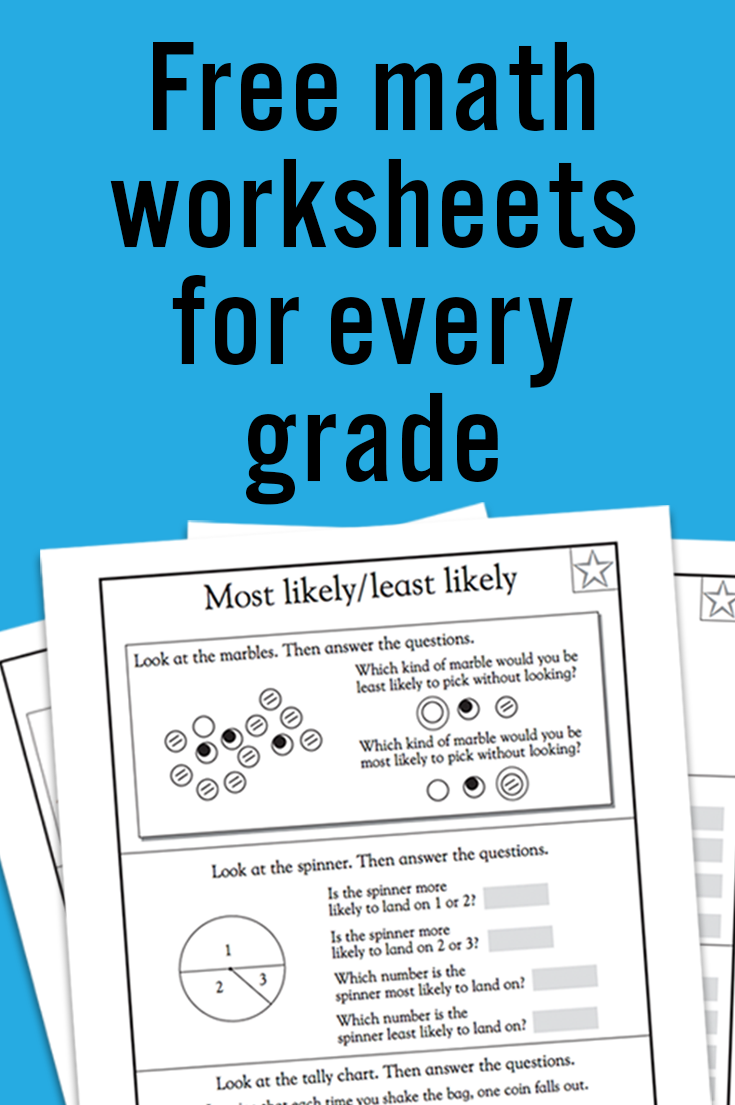 Kindergarten Math Worksheets: And 3 More Makes | Math Education