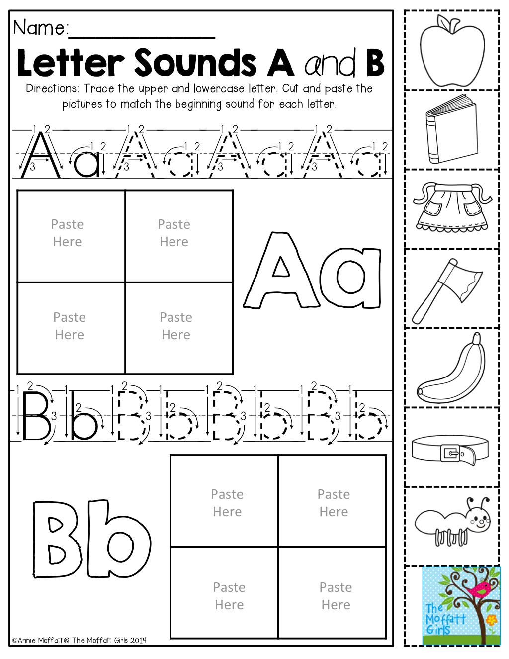 Back To School No Prep Math And Literacy Packet (kindergarten