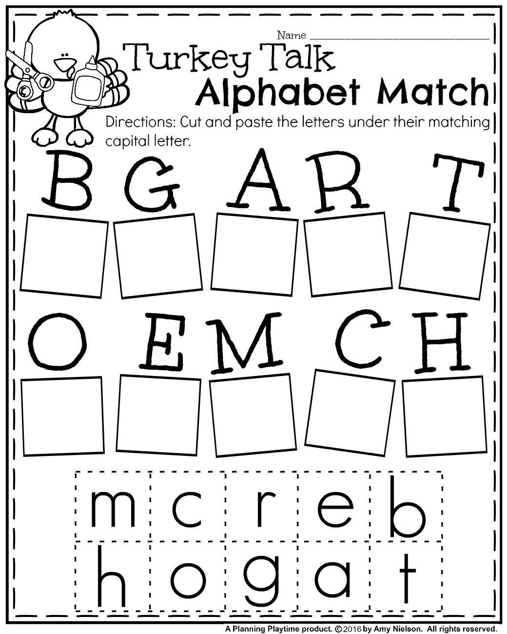 Fall Kindergarten Worksheets For November | Tpt Wishlist | Preschool