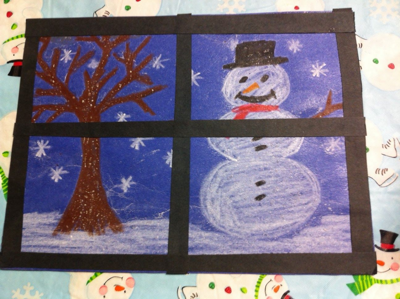Art Projects For Christmas | Kindergarten Kids At Play: Fun Winter