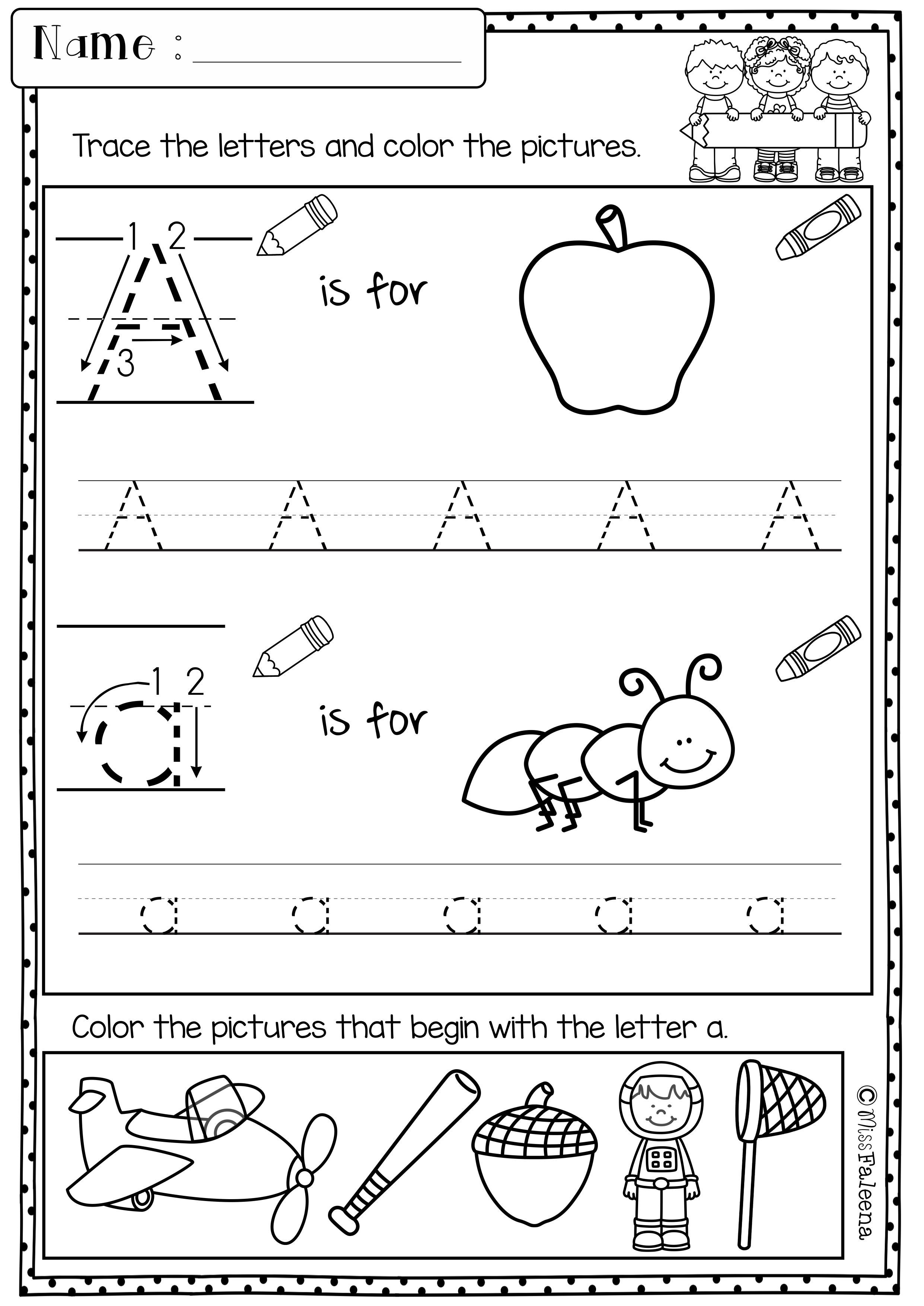 Kindergarten Morning Work (set 1) | ***all Things Educational And