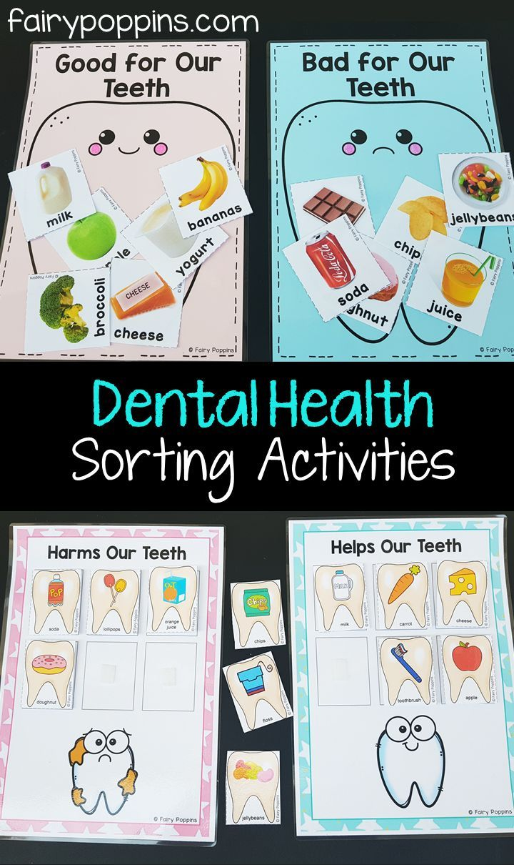 Dental Activities For Kids | Nutrition | Kindergarten Activities
