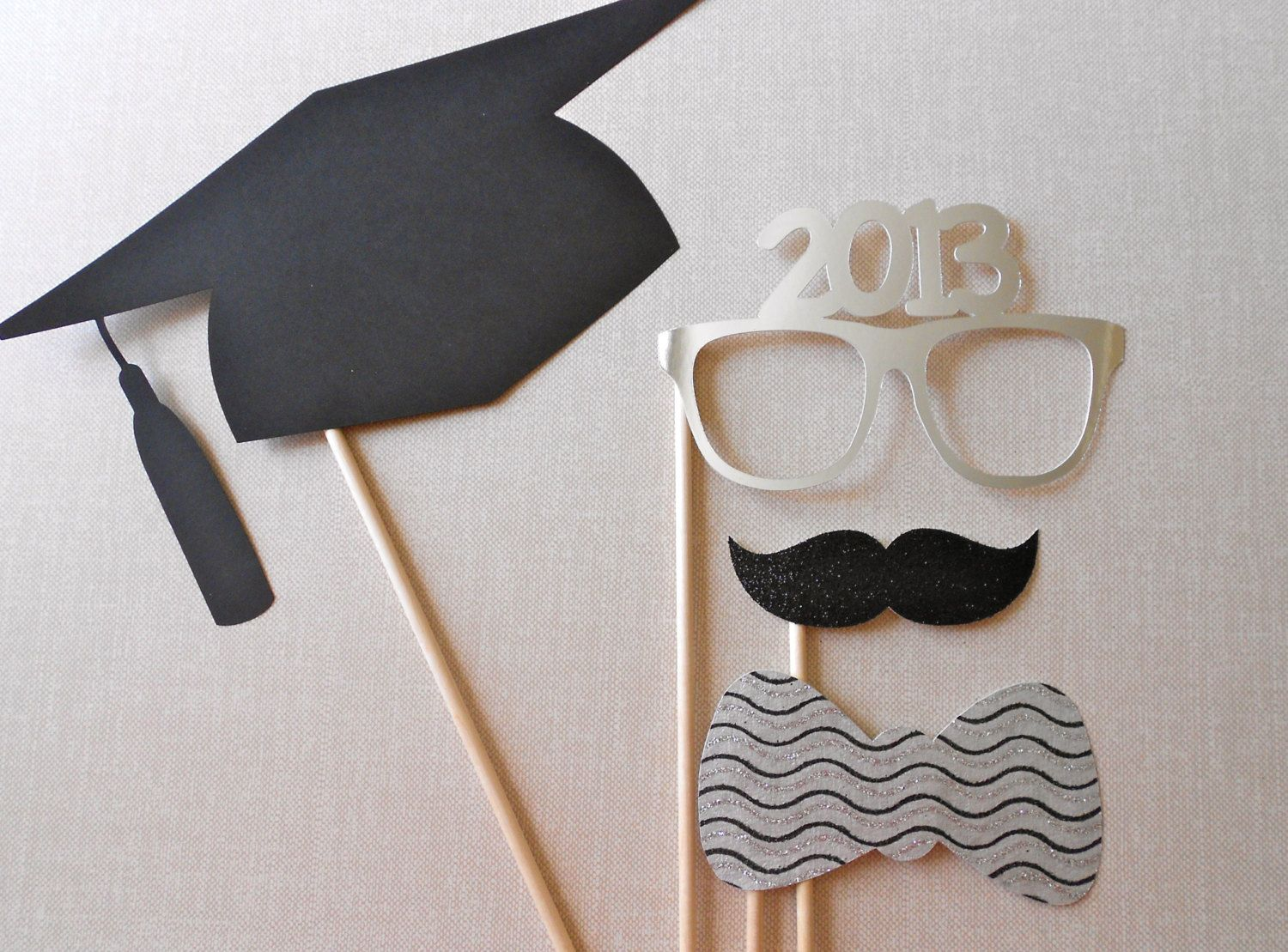 Graduation Photo Booth Props- Would Be Cute To Do For Kindergarten