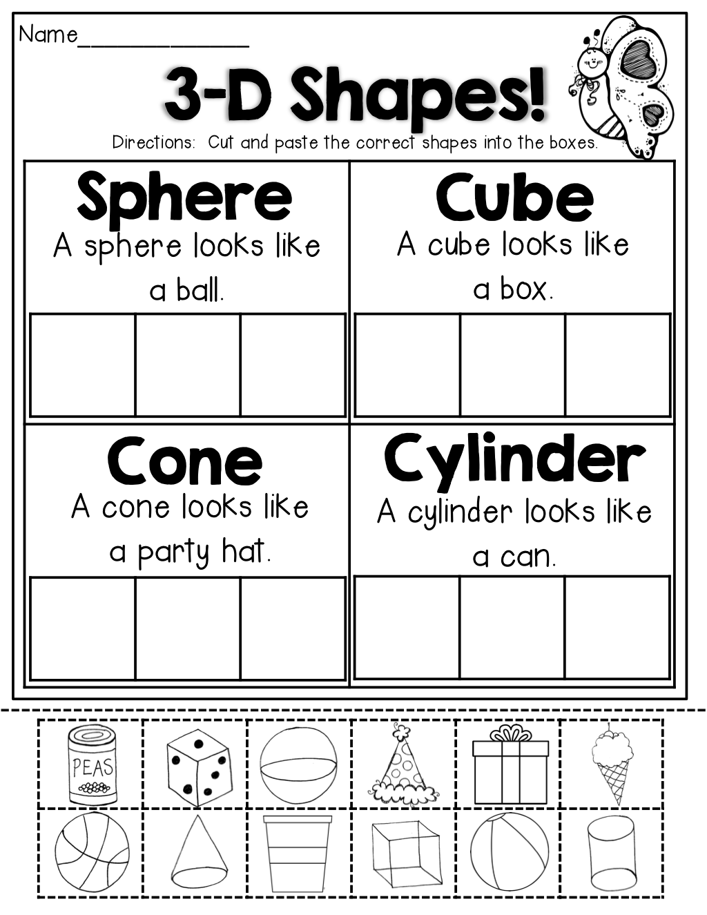 Spring Math And Literacy Packet No Prep (kindergarten) | Math