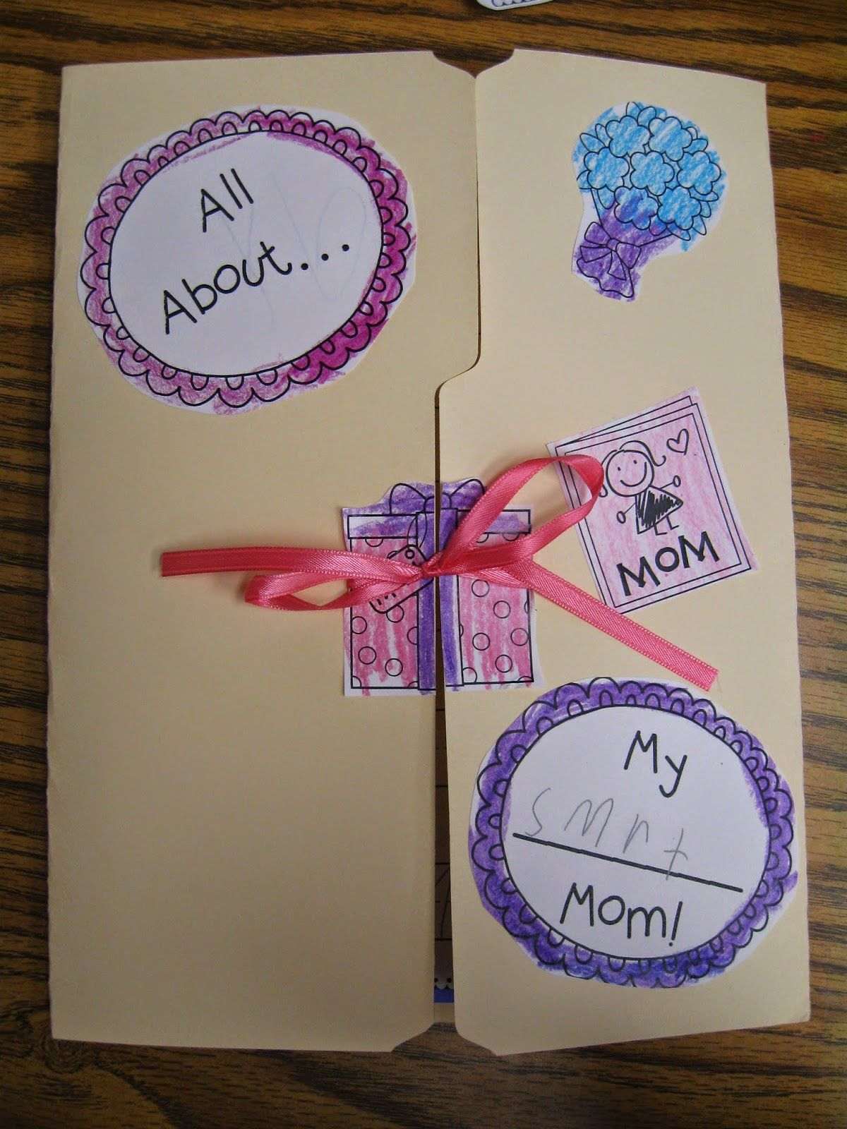 Crayons & Cuties In Kindergarten: Mother's Day Lapbook, 'diamond