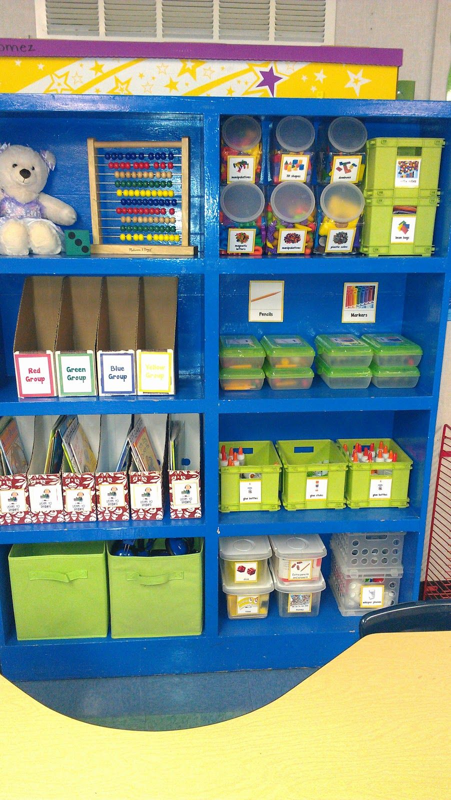 Super Cute, Cheery And Beautifully Organized Kindergarten Classroom