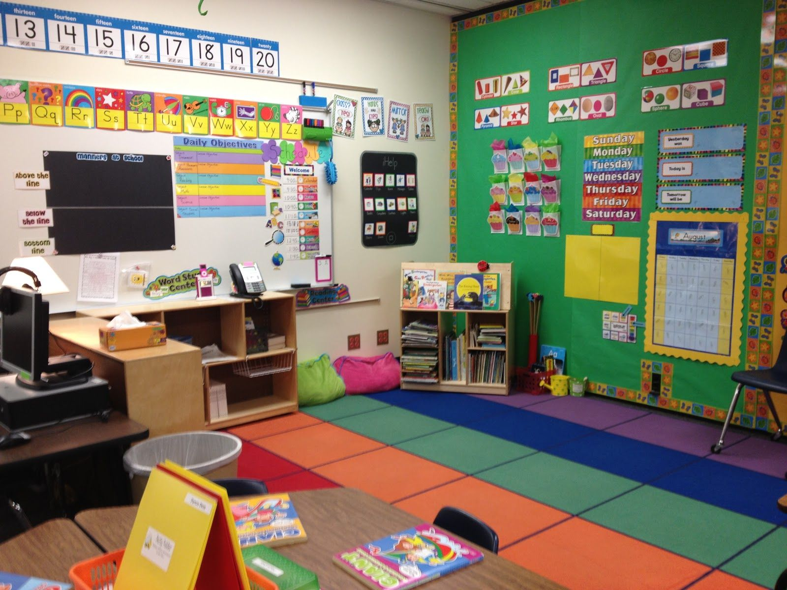 Traditional Kindergarten Classroom   In Your Arms (for Your Love #2