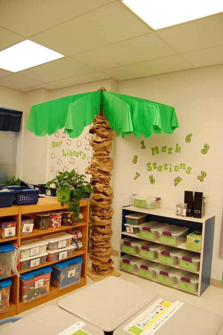 It's A Jungle Out There! A Kindergarten Blog: Lots Of Classroom