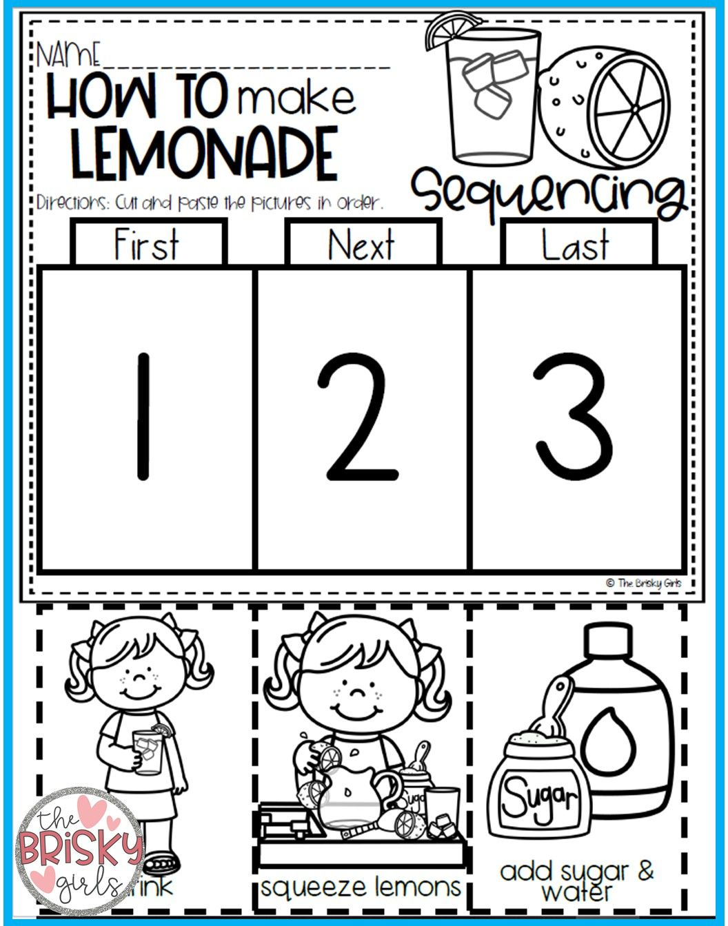 Kindergarten Summer Packet (get Ready For Kindergarten) | The Brisky