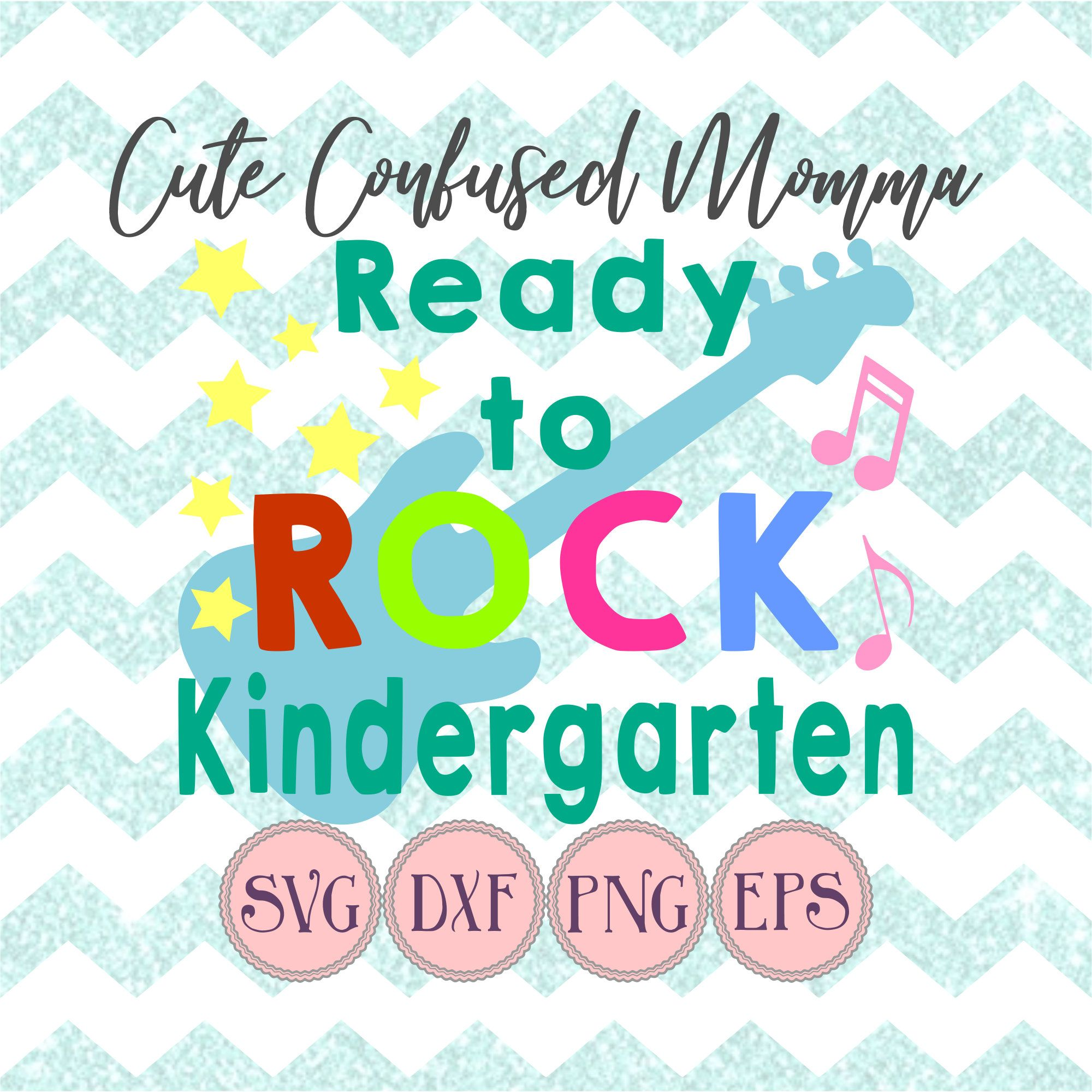 First Day Of School Kindergarten Svg Files For Cricut, Back To