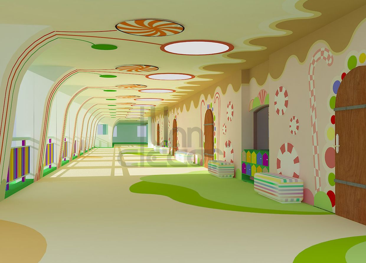 Kindergarten Interior Design On Behance More | Dream School