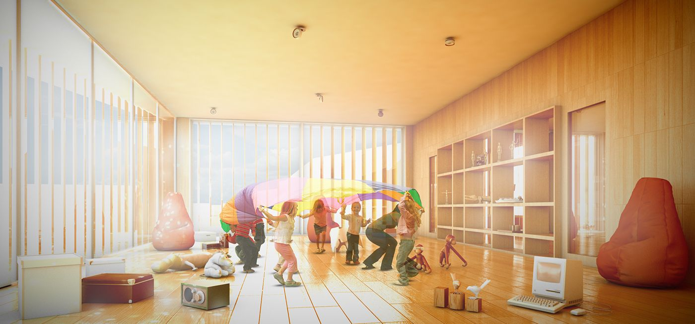 Kindergarten, Aarau (switzerland) / Competition Project On Behance