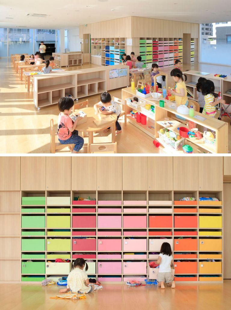 "Colorful ""branches"" Cover This New Kindergarten Building In Japan"