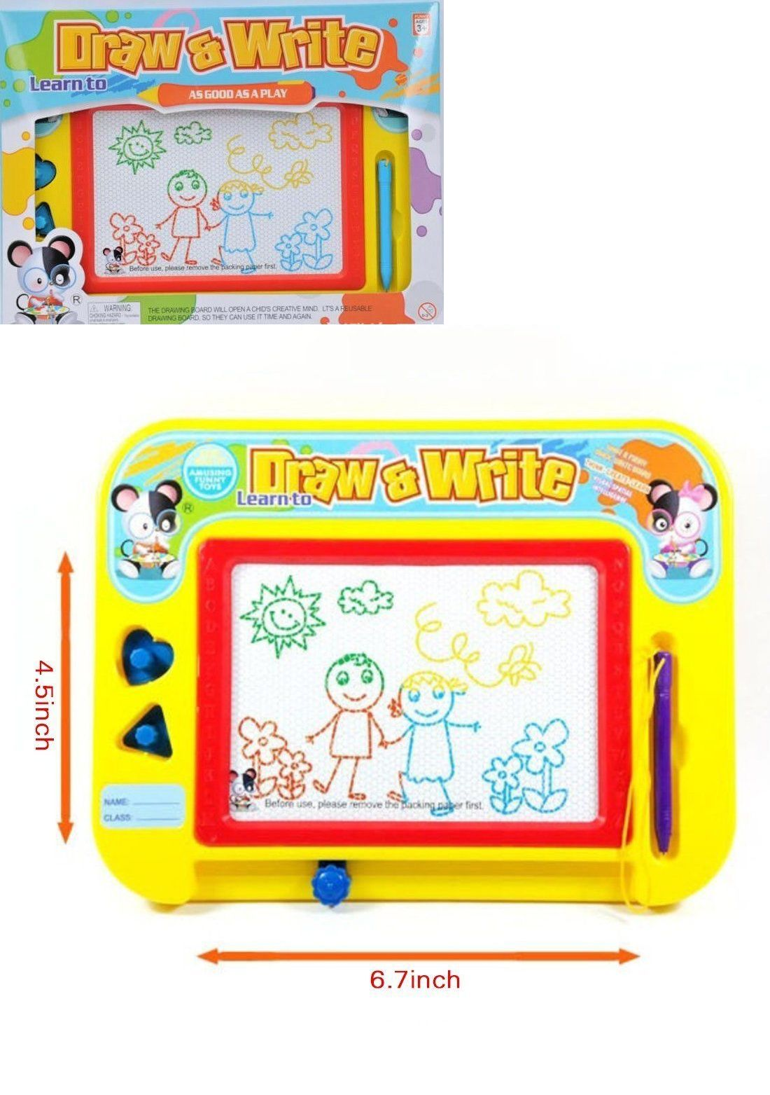 Preschool And Kindergarten 145938: Draw And Write Magnetic Erasable