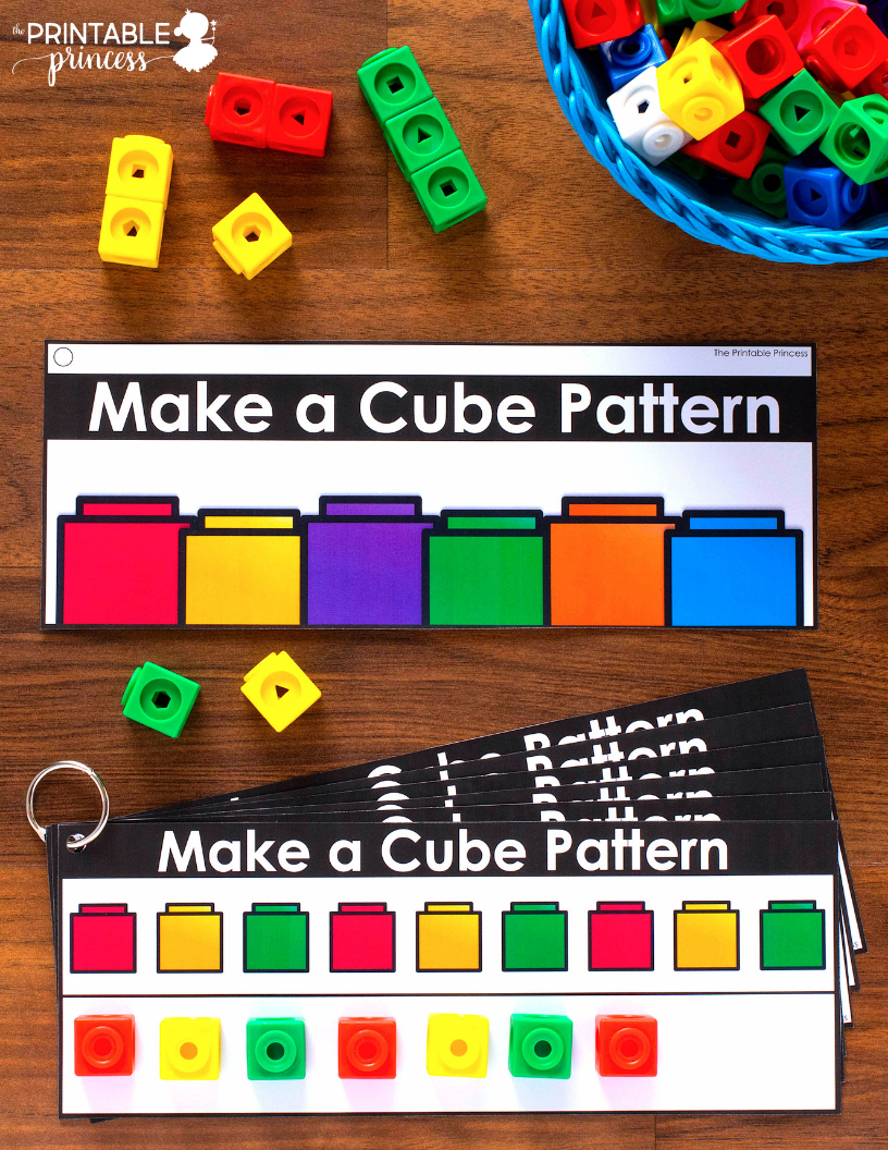 Kindergarten Morning Tubs | Patterning In Kindergarten