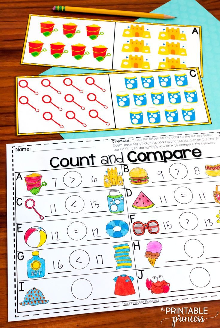 Summer Centers For Kindergarten {literacy And Math Activities} | My