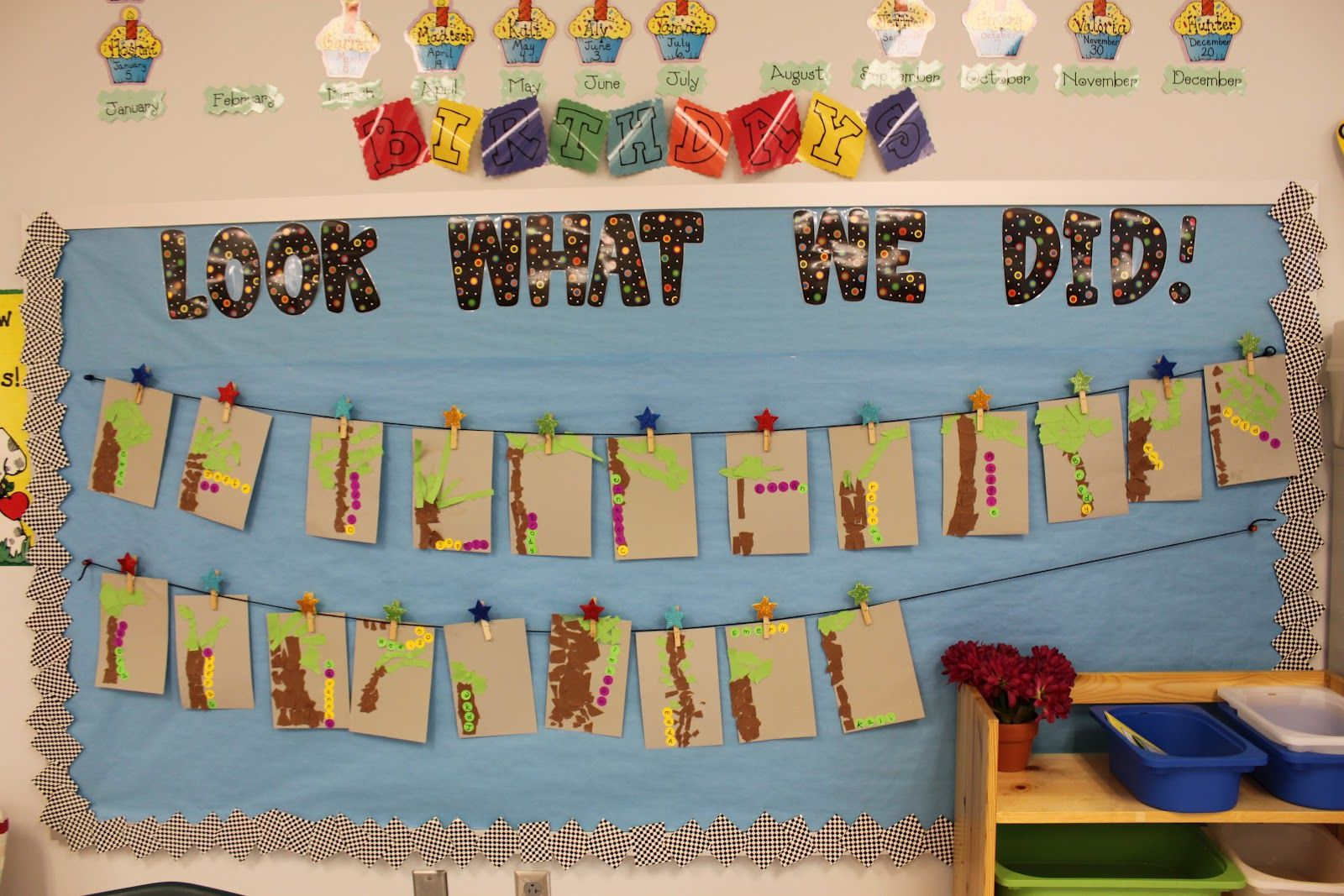 """Kindergarten Welcome Board Ideas I Am Putting A """"look What We Did"""