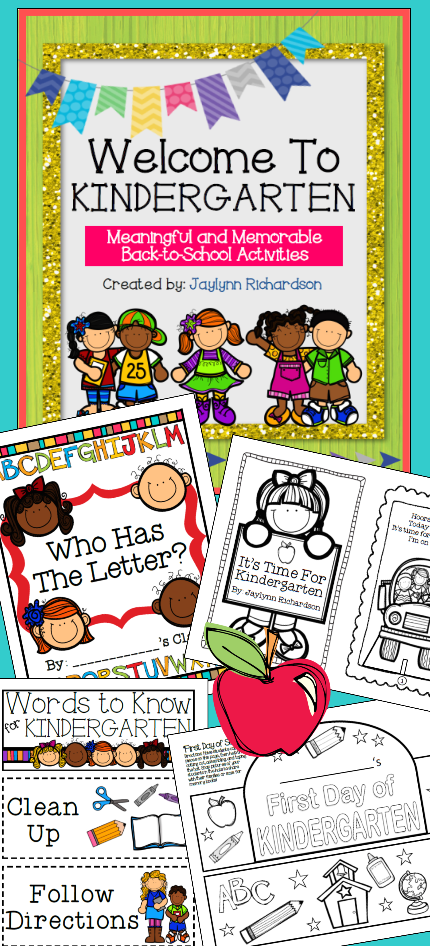 Welcome To Kindergarten! Meaningful And Memorable Back-to-school