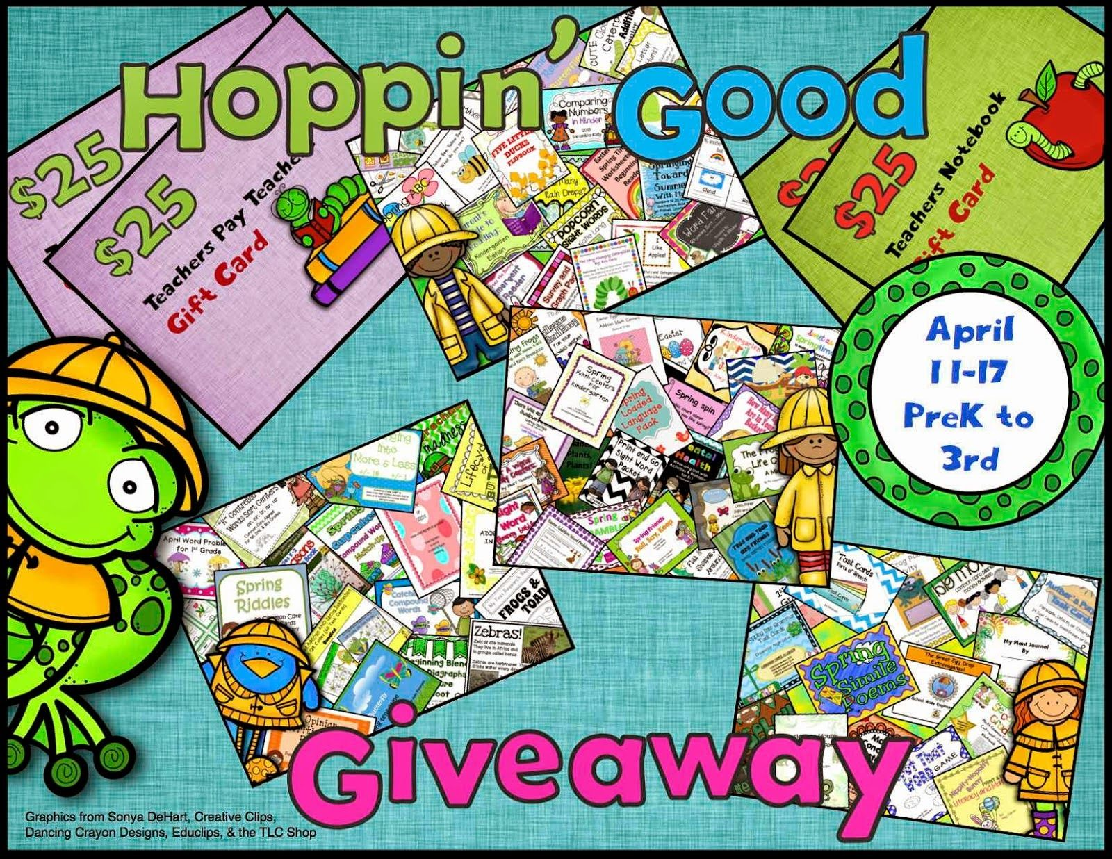 Tpt April Giveaway | Tpt Pinning Board | Giveaway, Kindergarten
