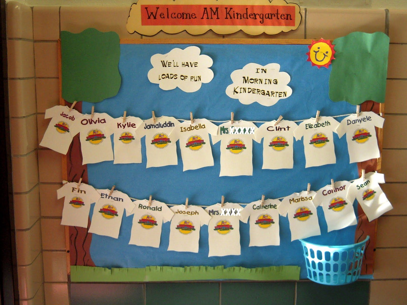 Bunches Of Bulletin Boards | Preschool Bulletin Board | Kindergarten