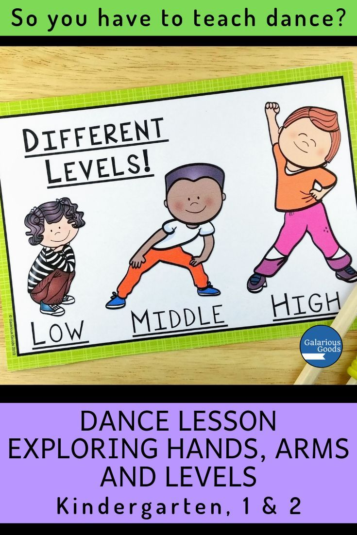 Dance Lesson - Exploring Hands, Arms And Levels | Kindergarten/prep