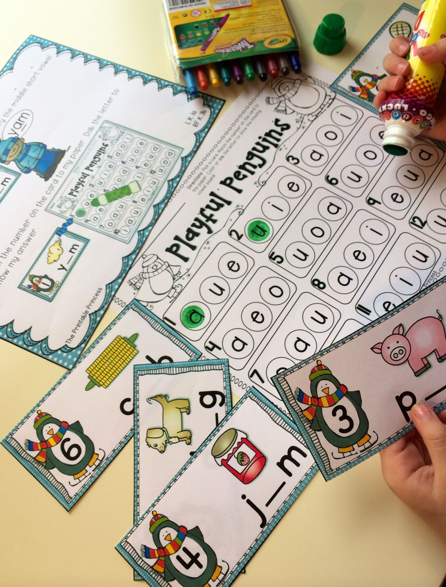 Winter Activities And Centers For Kindergarten | Steph's Teaching