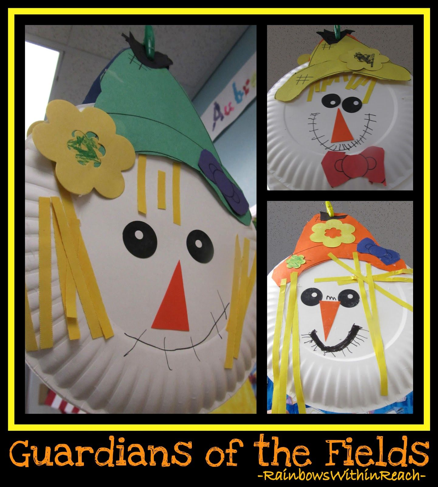 Scarecrows In Kindergarten And Preschool | Craft | Fall Preschool