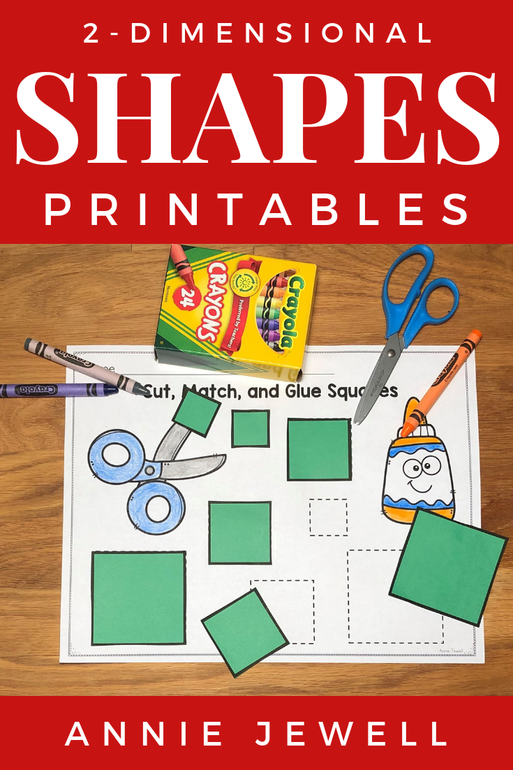 2-d Shapes Printables And Worksheets | Math For Kindergarten