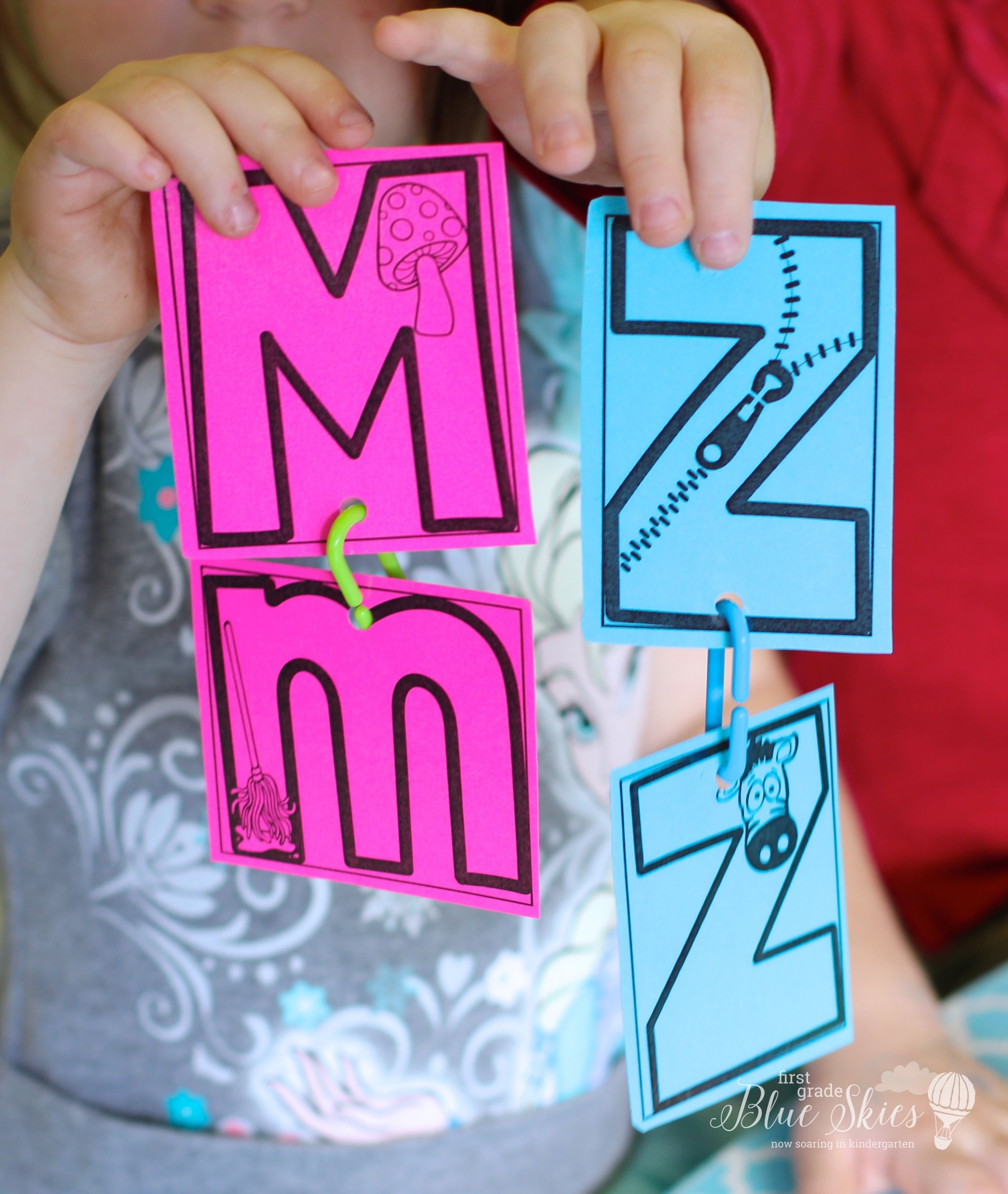 Freebie Kindergarten Abc Match - Letter Naming Is Definitely At The