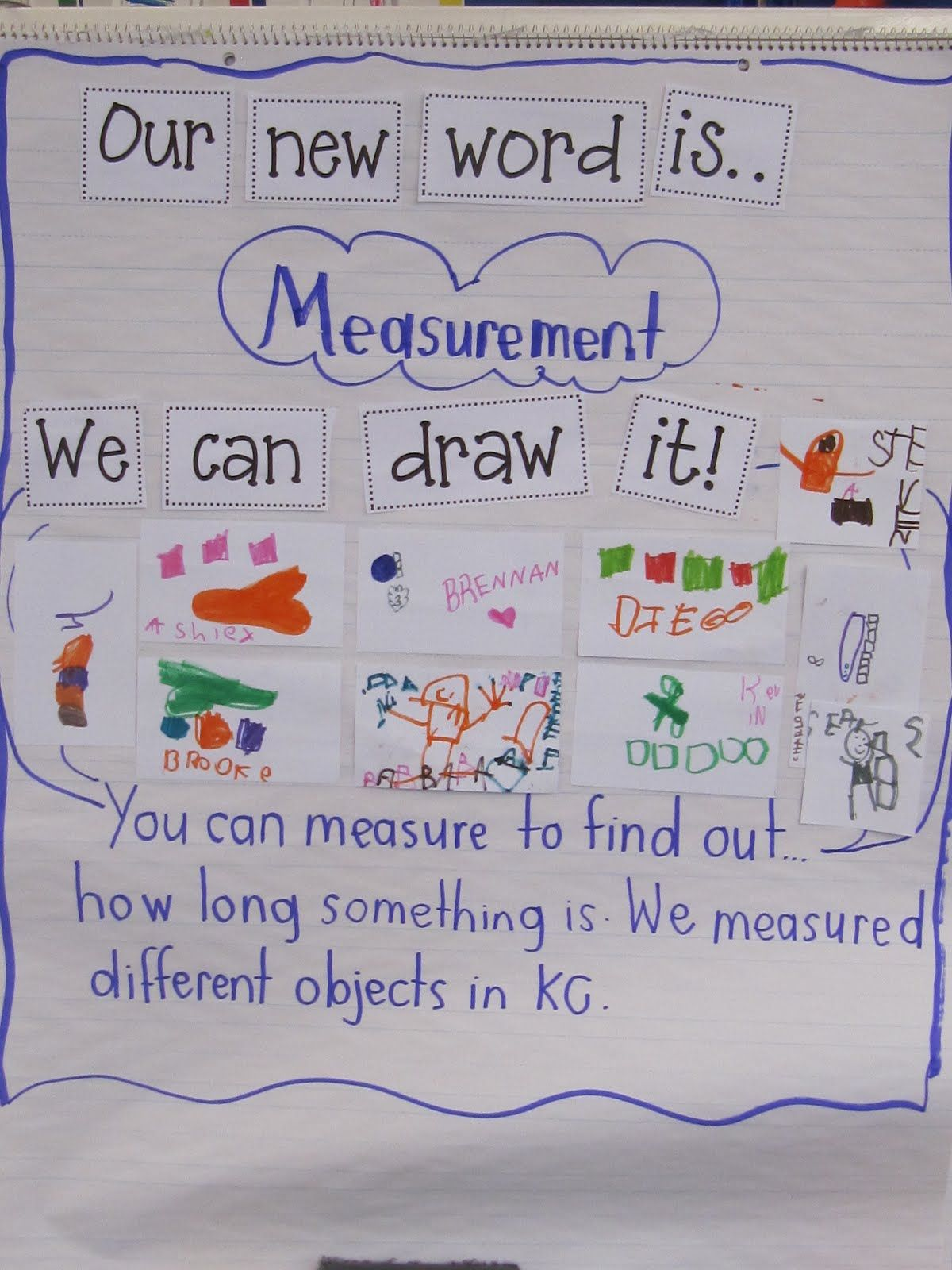 Joyful Learning In Kc: Measurement In Kindergarten | Kinder Math