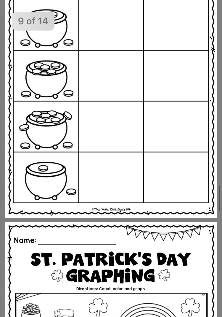 Pin By Lori Schwager On March Kindergarten Work | Puzzle