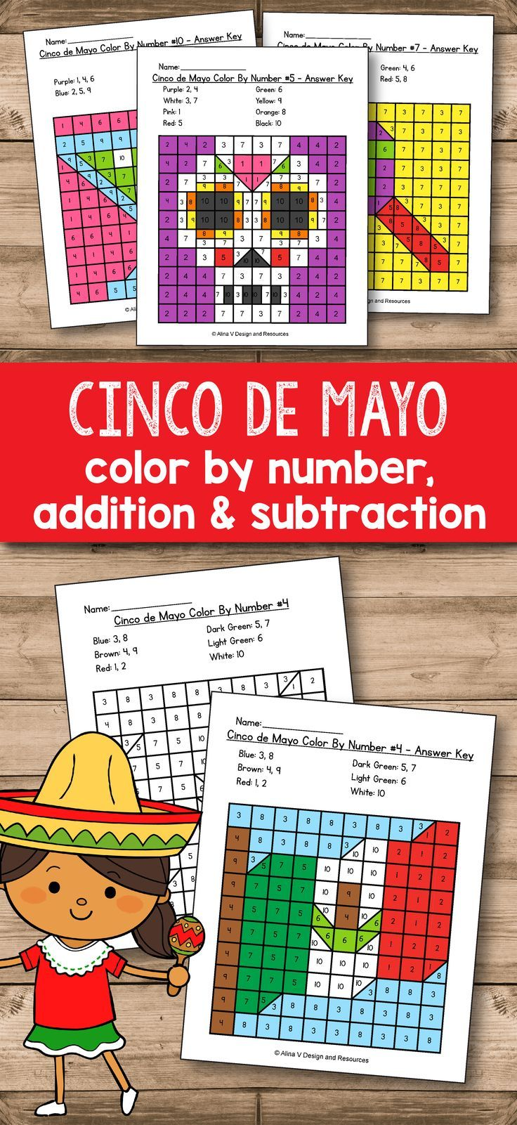 Cinco De Mayo Activities For Kindergarten - Cinco De Mayo