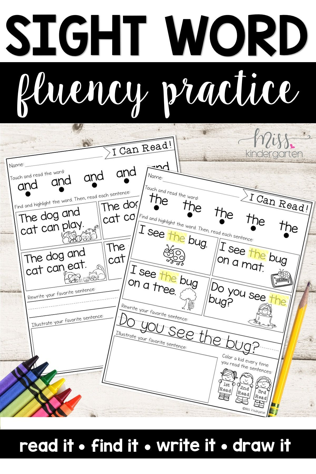 Make Teaching Sight Words Fun In Your Kindergarten Classroom